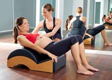 Pilates para embarazada para prevenir dolor de espalda