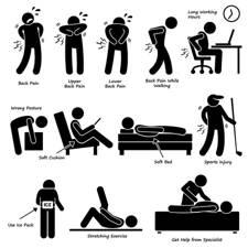 distintas causas de dolor de espalda