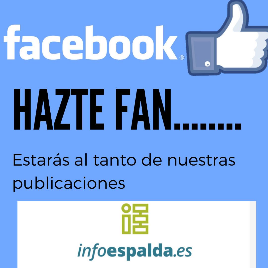 fan de facebook infoespalda