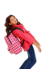 tamaño y peso de la mochila para evitar el dolor de espalda