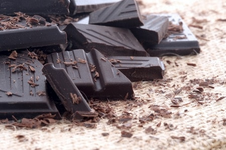 Chocolate negro antiinflamatorio